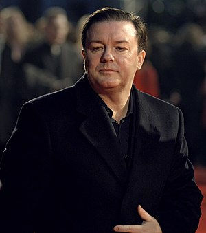Ricky Gervais at the 2007 BAFTAs