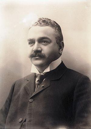 Sam Eyde photographed in 1910