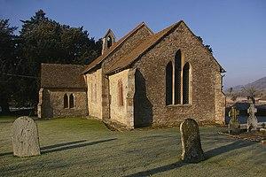 English: St Giles Church, Pipe Aston A Norman ...