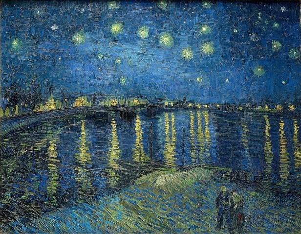 Starry Night Over the Rhône by Vincent van Gogh