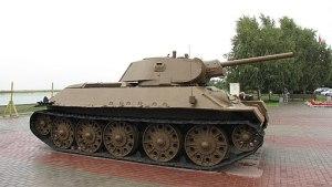 T-34 in Volgograd Panorama museum