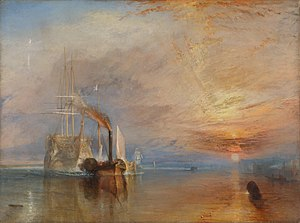 The Fighting Temeraire tugged to her last Bert...