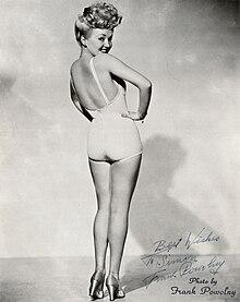 Betty Grable - Wikipedia, den frie encyklopædi