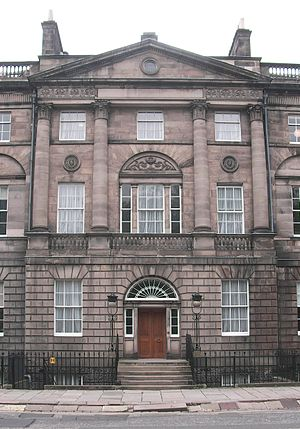 Bute House at Charlotte Square, Edinburgh, Sco...