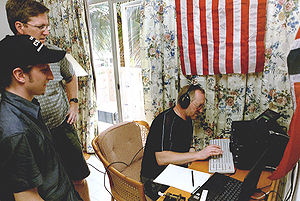 An international team on an Amateur Radio DXpe...
