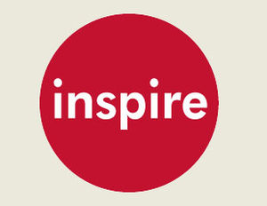 English: Logo for Inspire Entertainment