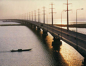 Jamuna Bridge of Bangladesh is one of the most...