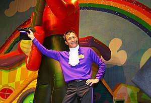 Jeff Fatt of The Wiggles Live @ the MCI Center...