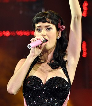 English: Katy Perry at YouTube Live 2008.