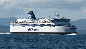 English: BC Ferries, MV Spirit of Vancouver Is...