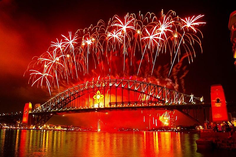 happy new years bridge