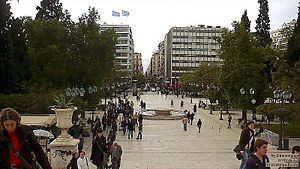 Sintagma Athens Main Square-Greece