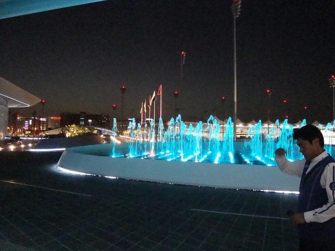 Abu Dhabi Yas Island - hotel entrance - panoramio