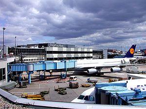 Deutsch: Frankfurter Airport – Terminal 1 Engl...