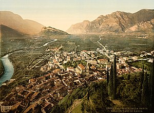 English: Valley of Sarca, Arco, Lake Garda, It...