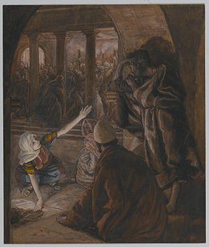 Brooklyn Museum - The Third Denial of Peter. J...