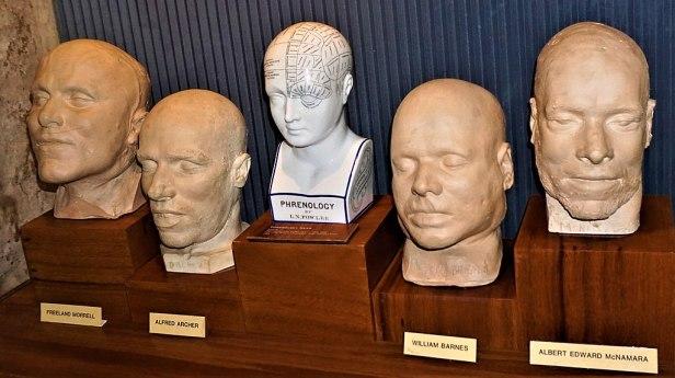 Death Masks - www.joyofmuseums.com - Old Melbourne Gaol