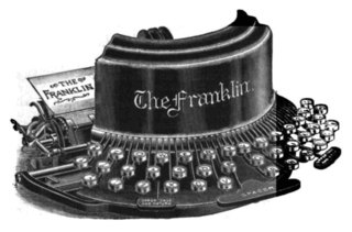 Franklin typewriter