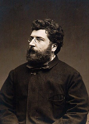 Portrait of Georges Bizet (1838–1875): t...