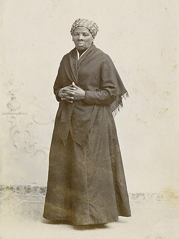 Harriet Tubman by Squyer, NPG, c1885