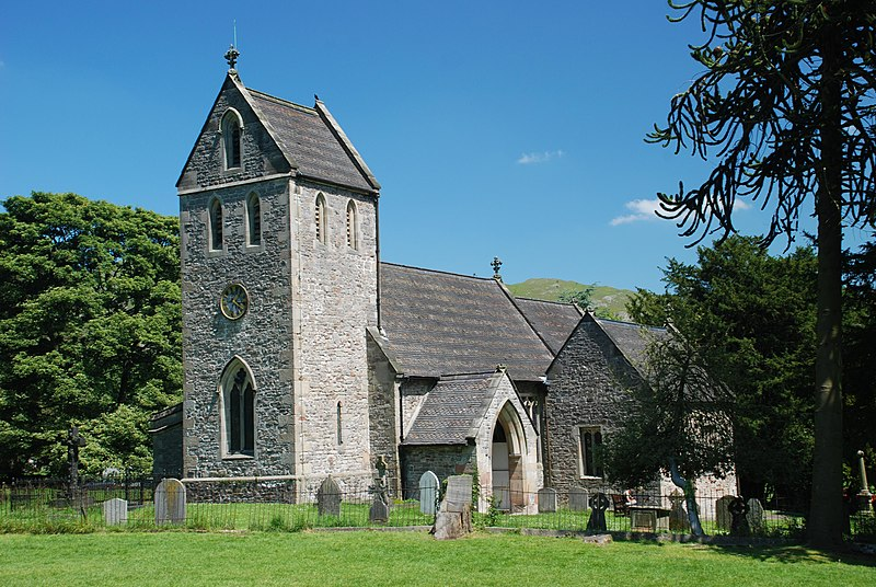 Church of the Holy Cross, Ilam, Staffordshire
