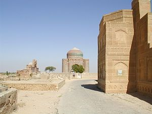 Tombs at the necropolis. Picture is taken in O...