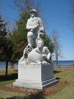 Fort Ste Anne site , Isle La Motte, Vermont