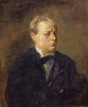 Sir Winston Leonard Spencer Churchill, by Ambr...