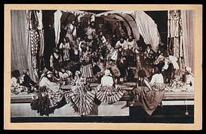 The Gypsy Theatre in Moscow, U.S.S.R.