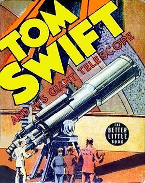 Cover of 1939 Tom Swift book