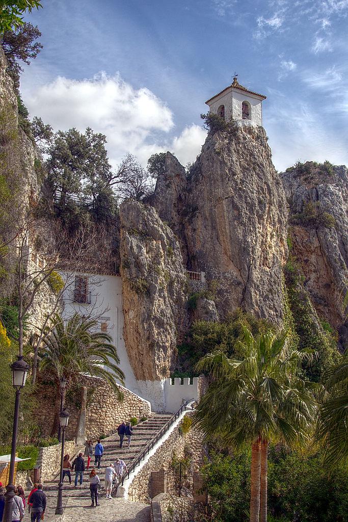 File Torre Penyal D Alcal 224 El Castell De Guadalest