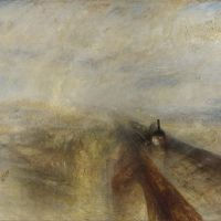 """Rain, Steam and Speed – The Great Western Railway"" by J. M. W. Turner"