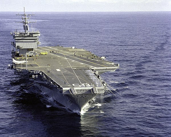 United State Navy Aircraft Carrier Uss Enterprise
