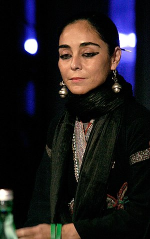 Shirin Neshat at an open discussion about her ...