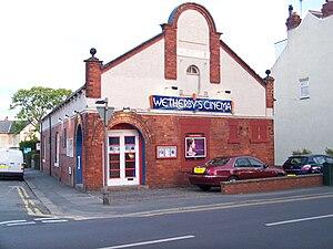 English: Wetherby Cinema, Caxton Street (infac...