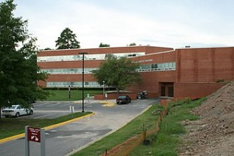 English: The Criminal Justice Building at Nort...