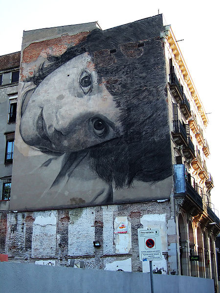 File:Barcelona wall drawing.jpg