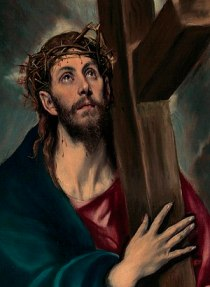 El Greco's Jesus Carrying the Cross, 1580.