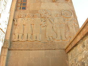 Akdamar (Turkey), Northern wall, Daniel the Pr...