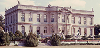 English: The Elms, a mansion in Newport, Rhode...