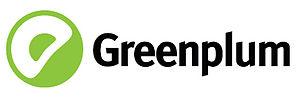 It's the logotype of Greenplum