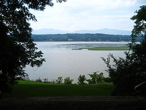 The Hudson River Valley in New york