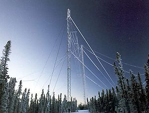 The HAARP HF Ionosonde Antenna