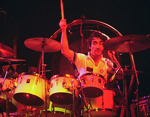 English: , English rock drummer for The Who