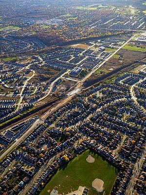 English: Urban Sprawl in London, Ontario