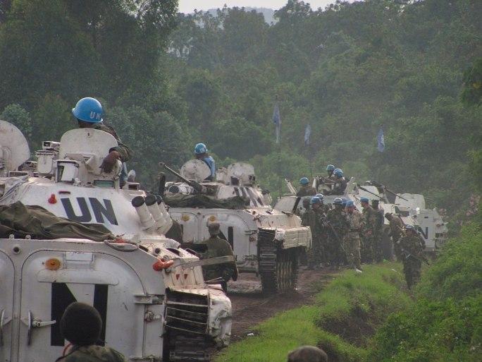 MONUSCO peacekeepers - Last line of defense near Goma. Photo MONUSCO (8229506972)