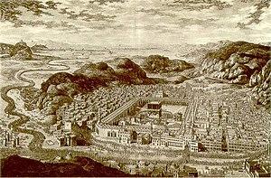 Mecca in 1850