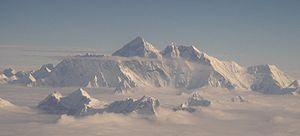 Mt Everest aerial 2005