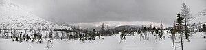 Français : Montagnes dans le Parc National de ...