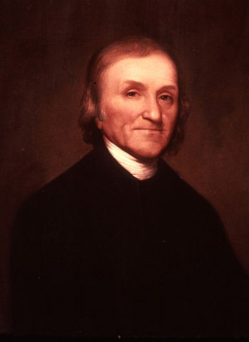 Portrait of Joseph Priestley